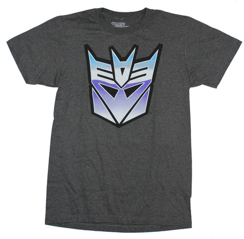 Transformers Mens T-Shirt - Classic Purple Decepticon Logo Image