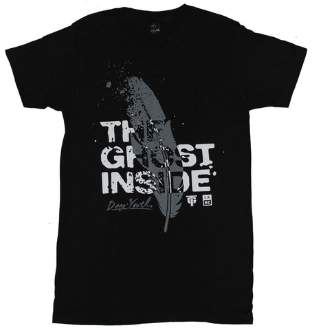 The Ghost Inside Mens T-Shirt - Splattery Feather Dear Youth Image