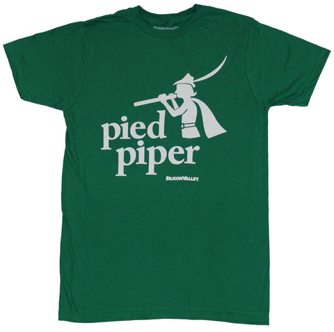 Silcon Valley Mens T-Shirt - Rejected Pied Piper Logo