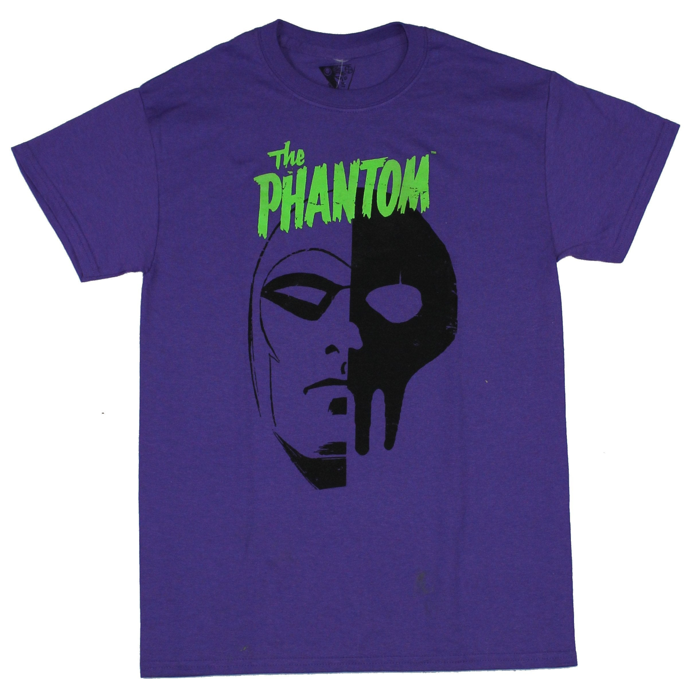 The Phantom Mens T-Shirt - Phantom Skull Mask Logo Image