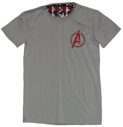 The Avengers Moisture Wicking Mens T-Shirt - Dynamic Stretch Logo