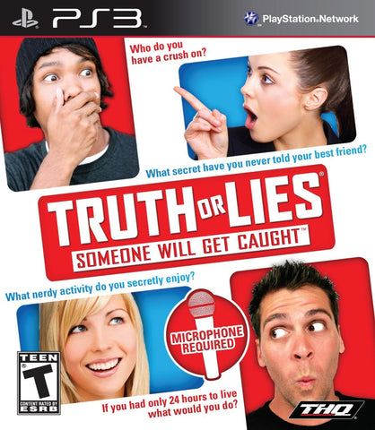 Truth or Lies - Playstation 3 [PlayStation 3]