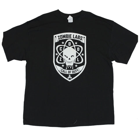 Call Of Duty Black Ops (Modern Warefare) Mens T-Shirt  - Zombie Labs Logo Imag