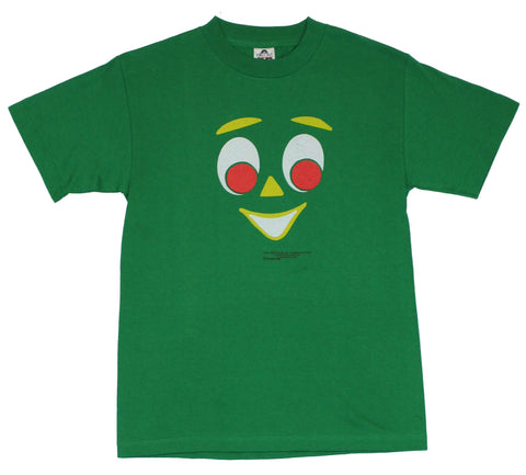 Gumby  Mens T-Shirt - Smiling Giant Gumby Face Image