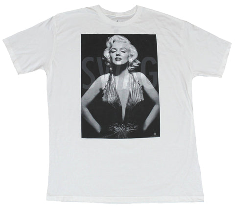 Marilyn Monroe Mens T-Shirt - Swag Hands on Hips Photo Image