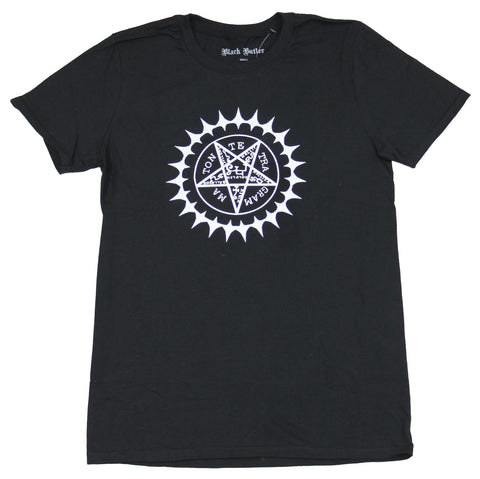 Black Butler Mens T-Shirt - Sebastian Pentagram Tattoo Image