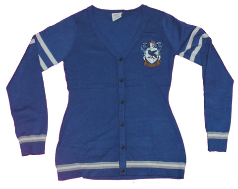 Harry Potter Girls Plus Size Cardigan - Ravenclaw House Crest