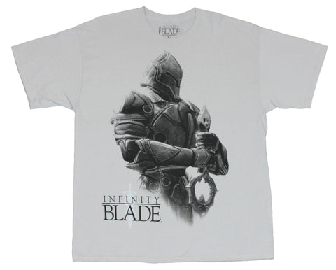 Infinity Blade (Blockbuster App Game) Mens T-Shirt  - Armored Knight Image on