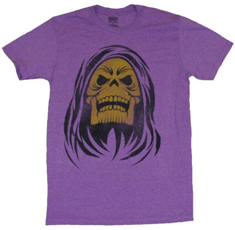 Masters of the Universe Mens T-Shirt  - Giant Laughing Simple Skeletor Image