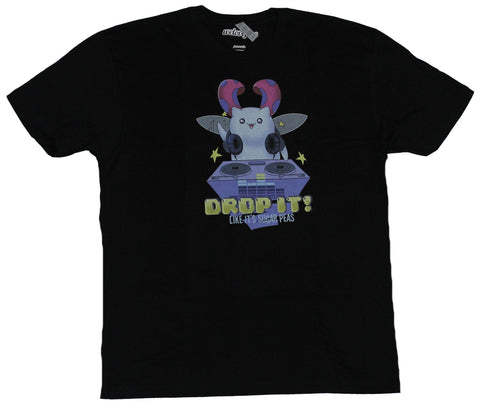 The Bravest Warriors Mens T-Shirt - Drop It! Catbug Working The Turntable Image