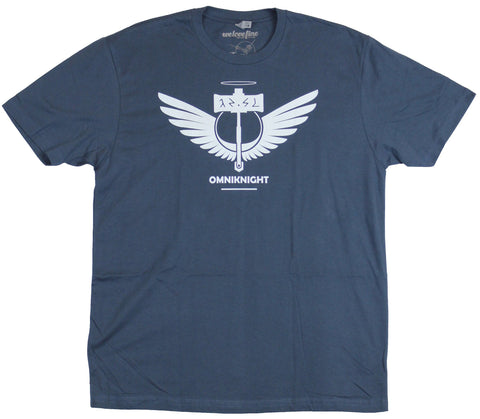 Dota 2 Mens T-Shirt - Omniknight Winged Crest Image
