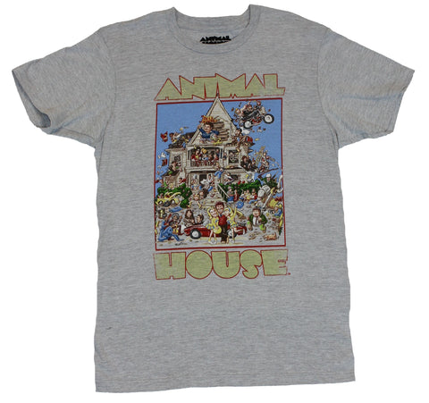 Animal House (Classic Hit Movie) Mens T-Shirt  - Classic Cartoon Image of the