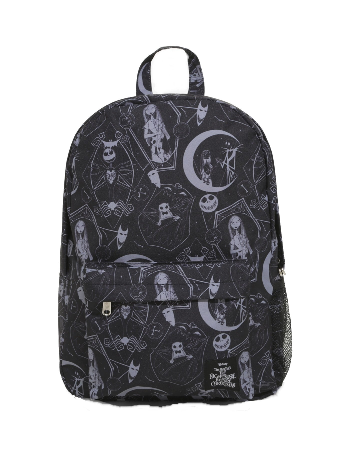 NBC Nightmare Before Christmas Jack Celestial Back-pack Bag School Coffin