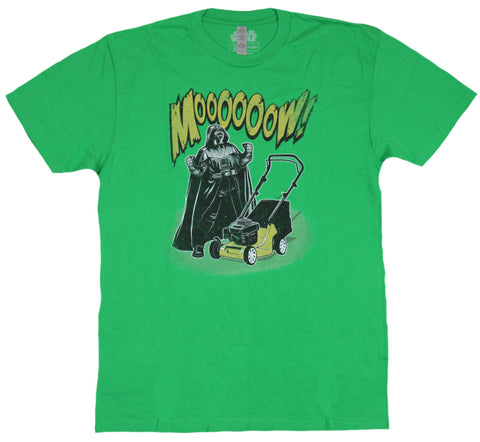 Star Wars  Mens T-Shirt - Mooooow! Vader Doesn't Want to Do It