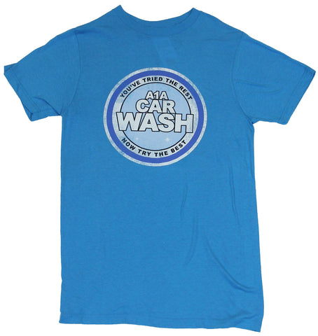 Breaking Bad Mens T-Shirt - A1A Car Wash Distressed Logo Image