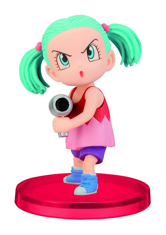 "Banpresto Dragon Ball Z 2.8"" Bulma World Collectible Figure, Volume 0"
