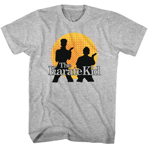 Karate Kid Adult S/S T-Shirt - The Karate Kid - Heather Gray Heather