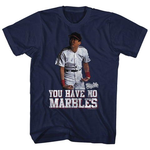 Major League Adult S/S T-Shirt - Marbles - Solid Navy