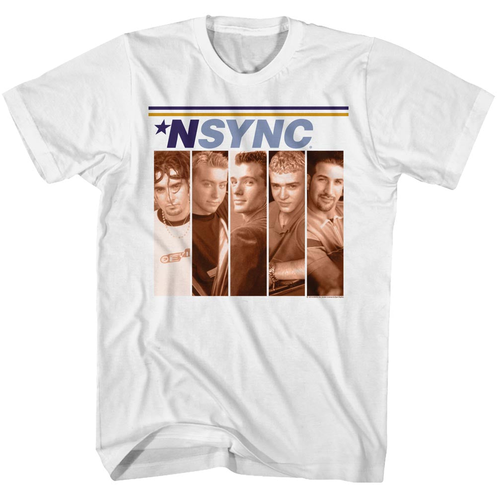 NSYNC Toddler S/S T-Shirt - Boxes - Solid White