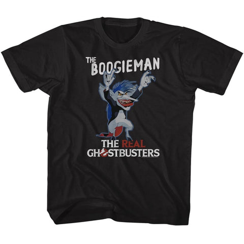 Real Ghostbusters Toddler S/S T-Shirt - The Boogeyman - Solid Black