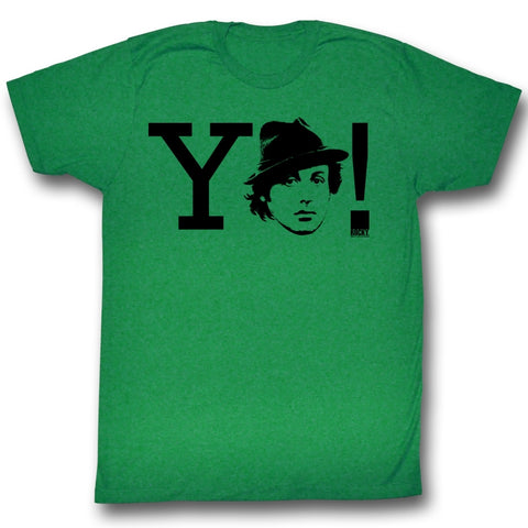 Rocky Adult S/S T-Shirt - Yo! - Solid Kelly