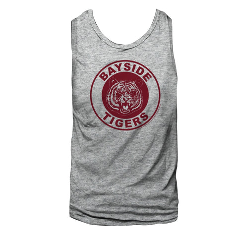 Saved By The Bell Adult  Tank - Wrestling - Solid Gray Heather