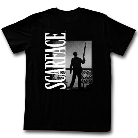 Scarface Adult S/S T-Shirt - Don'T - Solid Black