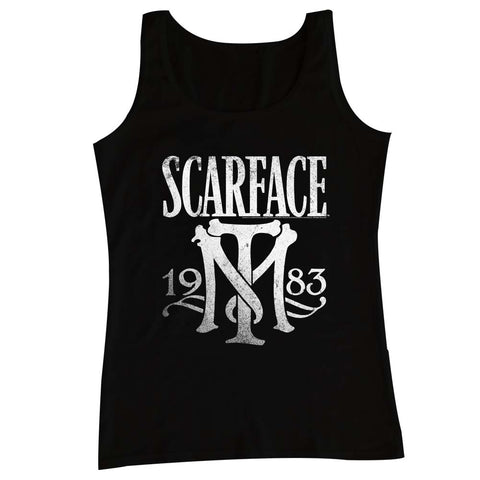Scarface Adult  Tank - Symbol - Solid Black