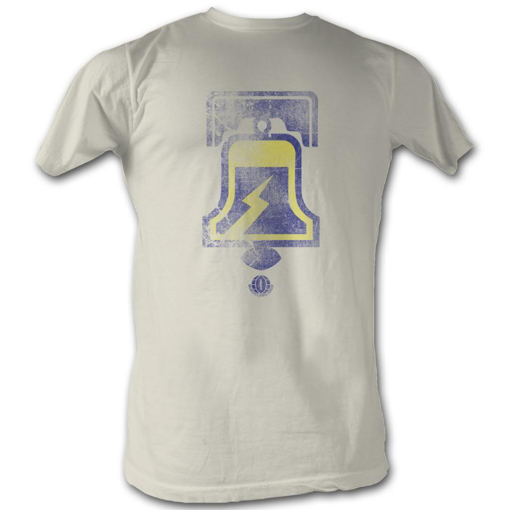 Wfl Mens S/S T-Shirt - Da Bell - Solid Natural