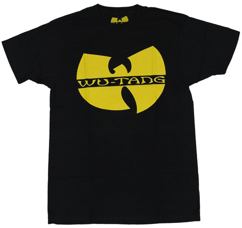 Wu-Tang Clan Mens T-Shirt - Solid Yellow Wu Tang Symbol
