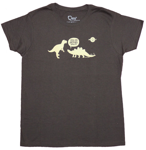 Firefly Serenity Girls Juniors T-Shirt - Curse Your Sudden But Inevitable Betrayal Dinos