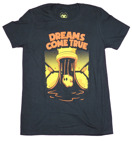 Bendy And The Ink Machine Mens  T-Shirt - Dreams Come True Flowing Ink Punch