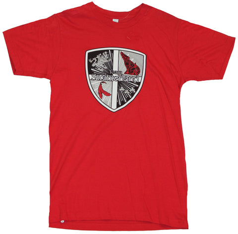 Twilight Eclipse Mens T-Shirt  - Team Swizterland Shield Crest
