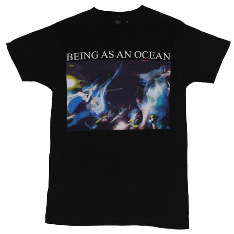 Being As An Ocean Mens T-Shirt -Ghostly Light Trailed Box Photo Image