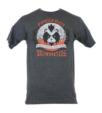 World of Warcraft Mens T-Shirt  - Pandaren Bremasters Logo Shirt