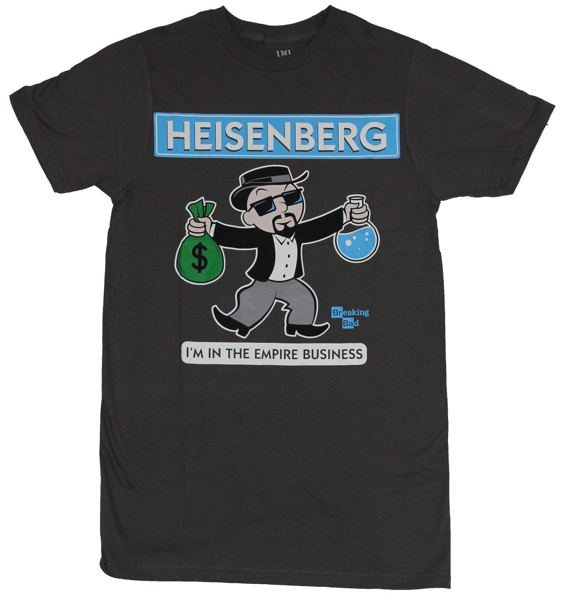 Breaking Bad Mens T-Shirt - Heisenberg I'm In The Empire Business Cartoon Image