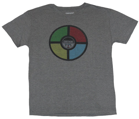 Simon Milton Bradley Mens T-Shirt - Distressed Classic Game Top Image