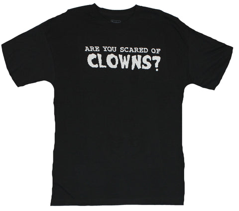 "Clowns Flip Up Mens T-Shirt -  ""Are You Sacred of Clowns?"""