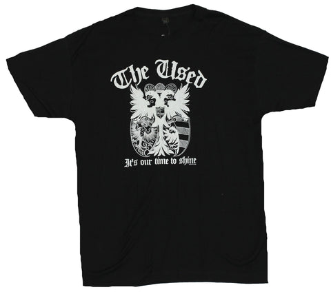 "The Used Mens T-Shirt -  ""It's Our Time to Shine"" Griffin Shield Image"