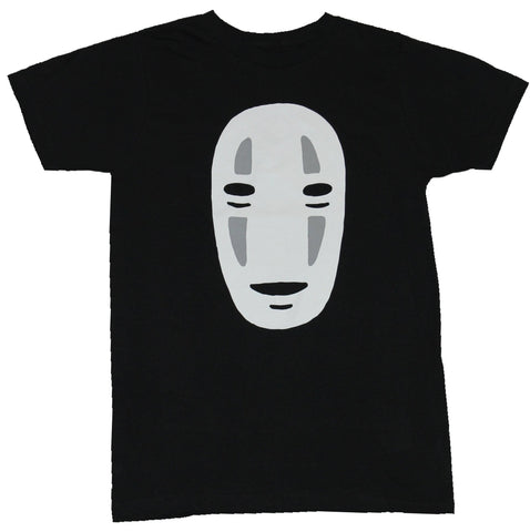 Spirited Away Mens T-Shirt -  No Face Simple Mask Image
