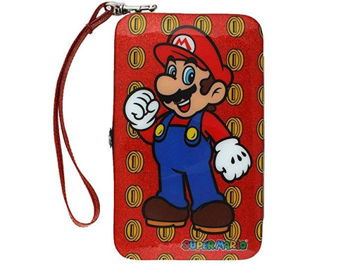 Super Mario Brothers Mario Over Glitter Coin Field Universal Smart Phone Wall...
