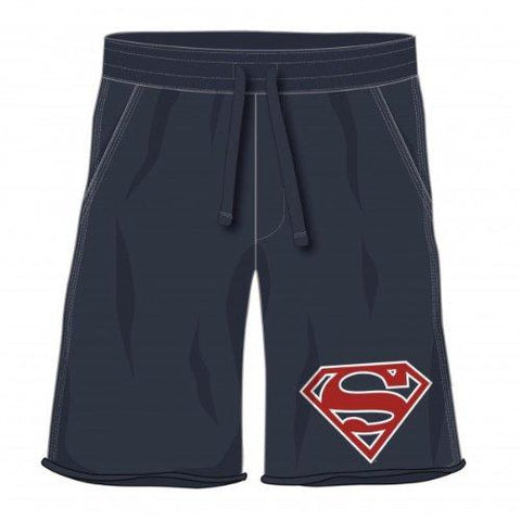 Superman Symbol Navy Jam Shorts (Extra Large)