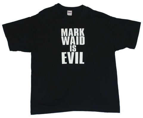 Mark Waid is Evil Mens T-Shirt  - Expressed Rage for the Man that Ruined Spide