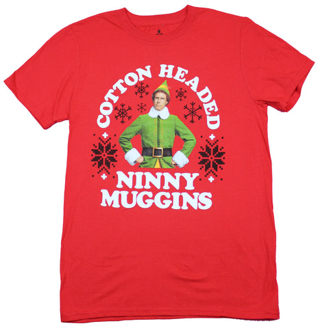 Elf The Movie Mens T-Shirt  - Cotton Headed Ninny Muggins Photo Image