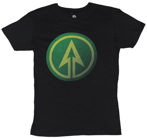 Green Arrow  Mens T-Shirt - Arrow CW Series Green Up Arrow Logo
