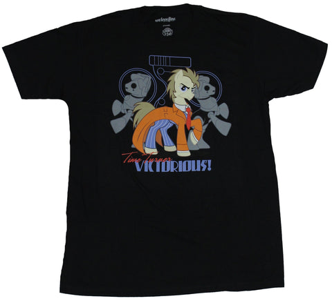 My Little Pony Mens T-Shirt  - Dr Whooves Time Turner Victorious Image