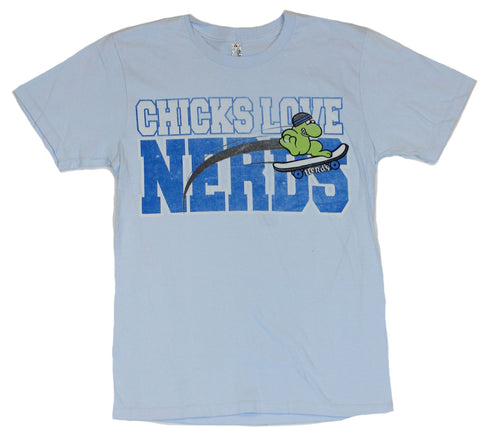 Nerds (Classic Candy) Mens T Shirt  - Chicks Love Nerds [Apparel]