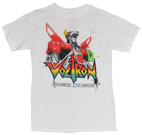 Voltron Mens T-Shirt -  Head and Shoulders Above Classic Logo Image