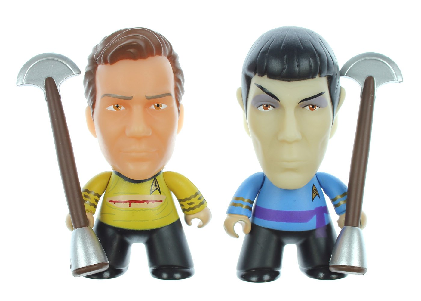 "Star Trek Kirk Vs. Spock Figure Set - ""Amok Time"" - SDCC 2016 Exclusive"
