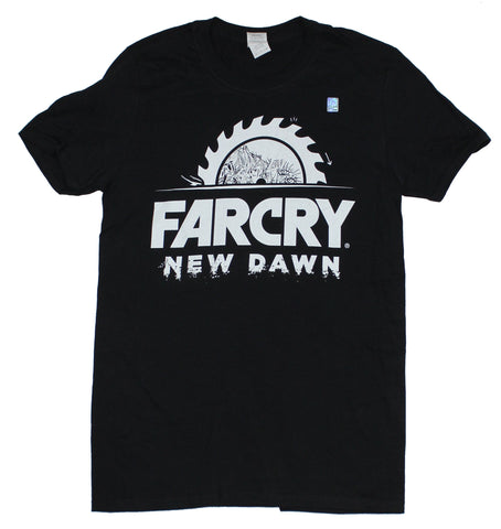 Far Cry New Dawn Mens T-Shirt - Sawblade Logo Image